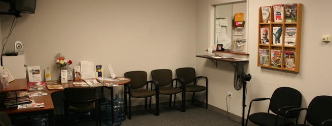 Why Choose Advanced PT Waiting Room